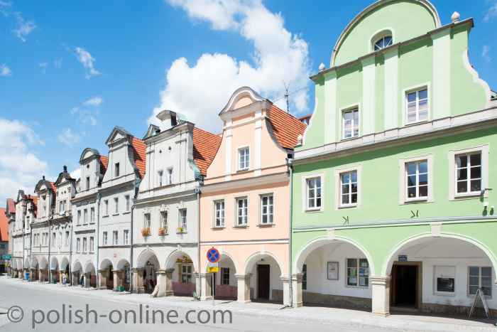 Barocke Bürgerhäuser am Ring von Schömberg
