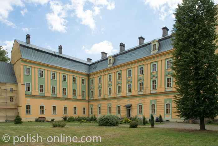 Klostergebäude in Grüssau