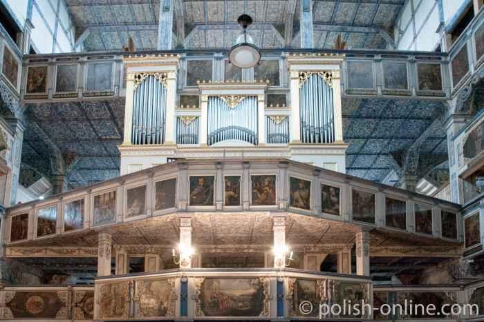 Orgel Friedenskirche Schweidnitz