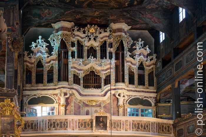 Die Große Orgel in der Friedenskirche Schweidnitz
