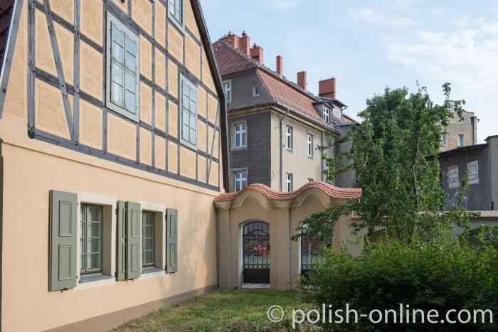 Fachwerkhaus neben der Friedenskirche in Schweidnitz