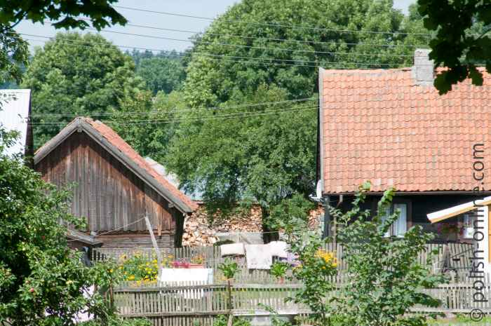 Bauernhof in Liebenberg Masuren
