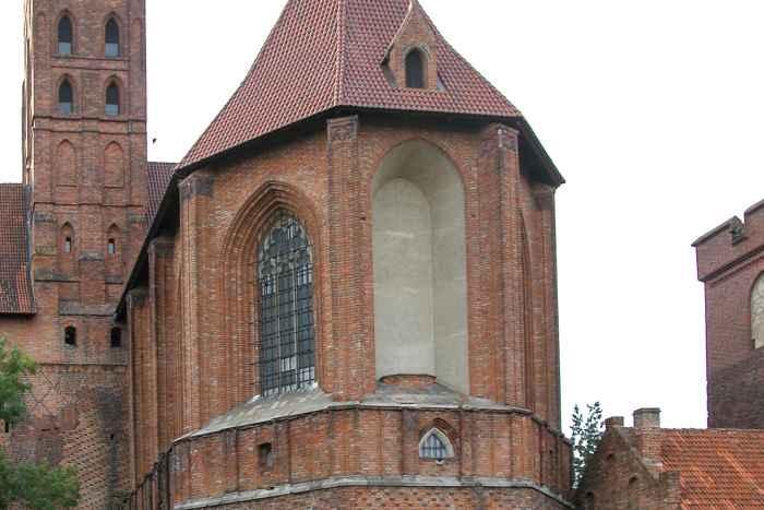 Fehlendes Marienbild in der Marienburg (Malbork)