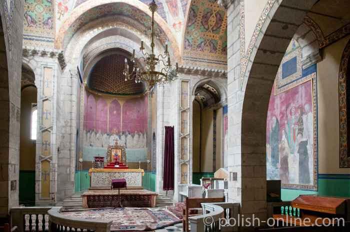 Altarrraum der Armenischen Kathedrale in Lemberg