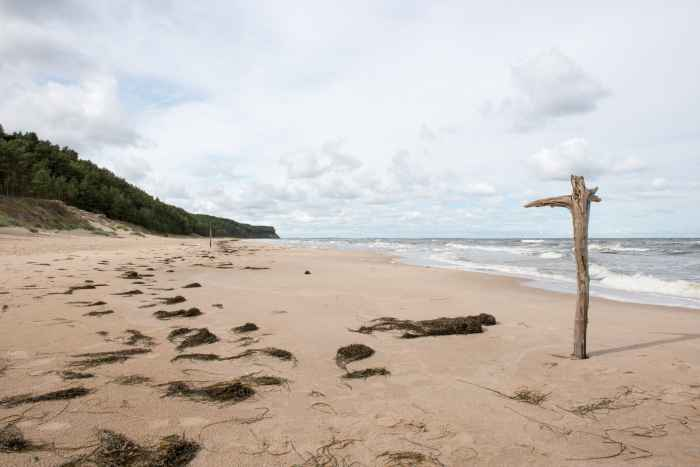 Ostseestand Insel Wollin bei Wisełka