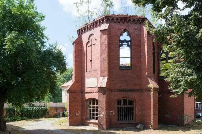 Ruine der evangelischen Kirche in Frankenstein (Ząbkowice Śląskie)