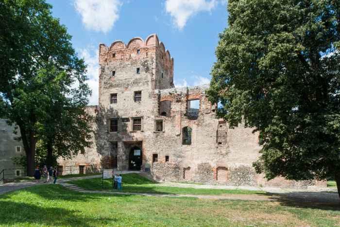 Schloss in Frankenstein (Ząbkowice Śląskie)