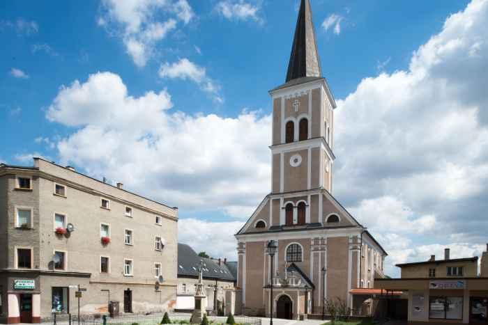 Kreuzkirche in Frankenstein (Ząbkowice Śląskie)