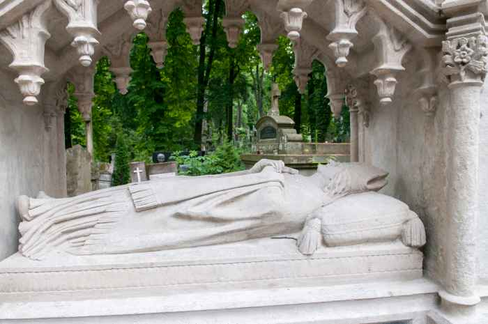 Grabmal des armenisch-katholischen Bischofs Samuel Cyryl Stefanowicz