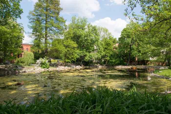 Park Kasimir der Große in Bromberg (Bydgoszcz)