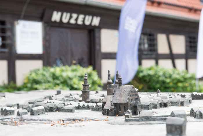 Model der historischen Altstadt von Bromberg (Bydgoszcz)