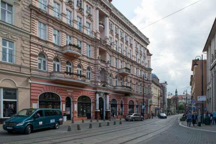 Hotel Zum Adler in Bromberg (Bydgoszcz)