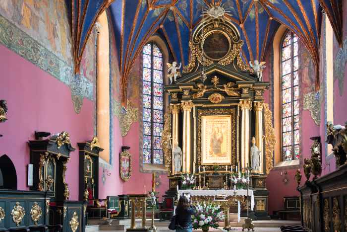 Altarraum der Bromberger Kathedrale