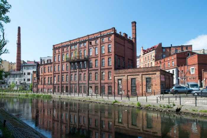 Historisches Fabrikgebäude in Bromberg (Bydgoszcz)