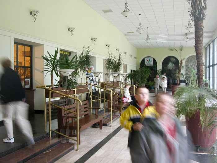 Trinkhalle in Bad Reinerz (Duszniki Zdrój)