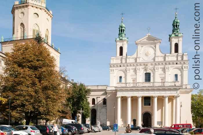 Trinitarische Turm und Dom in Lublin
