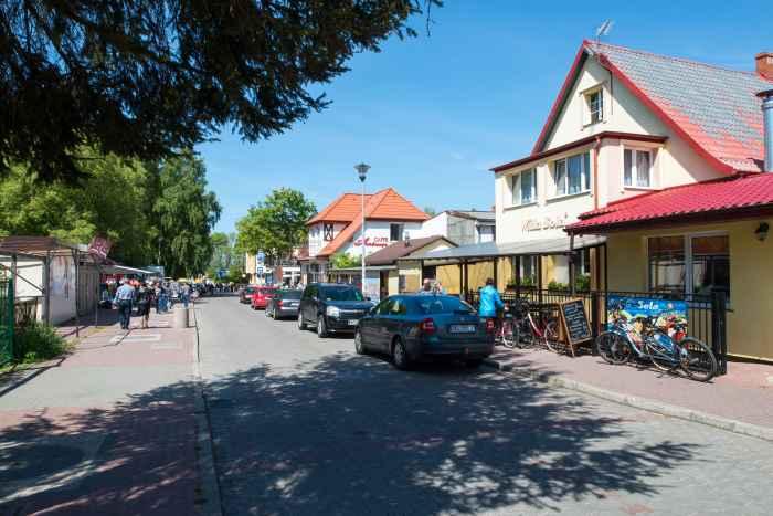 Häuser im Ostseebad Henkenhagen (Ustronie Morskie) in Polen