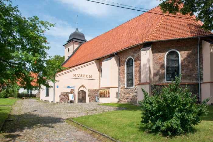 Frühere evangelische Kirche in Hohenstein (OLsztynek)