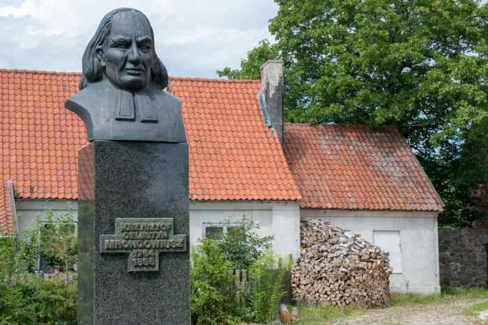 Denkmal für Christoph Cölestin Mrongovius in Hohenstein