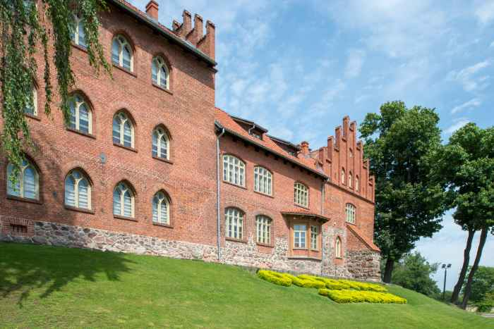 Ordensburg in Hohenstein (Olsztynek)