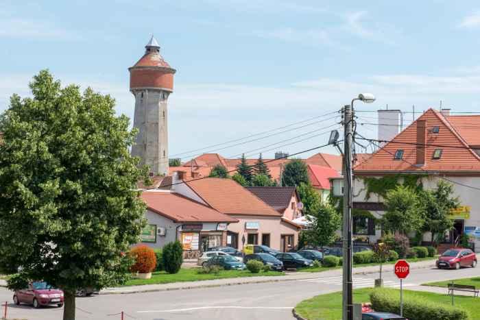 Wasserturm in Hohenstein (Olsztynek)