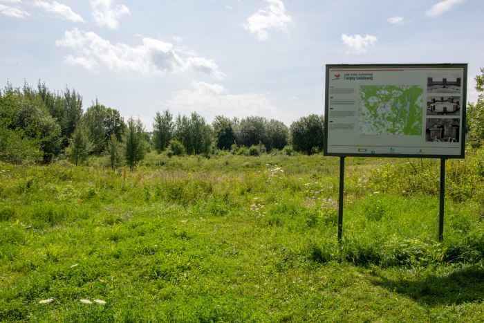 Gelände, auf dem das Tannenberg-Denkmal stand