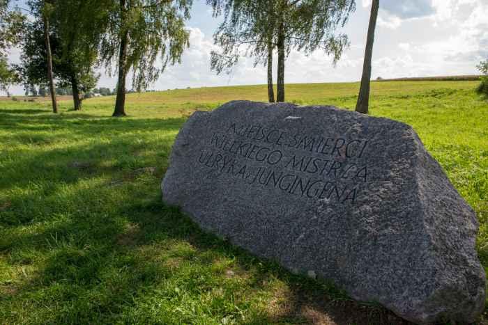 Gedenkstein für den Hochmeister des Deutschen Ordens Ulrich von Jungningen
