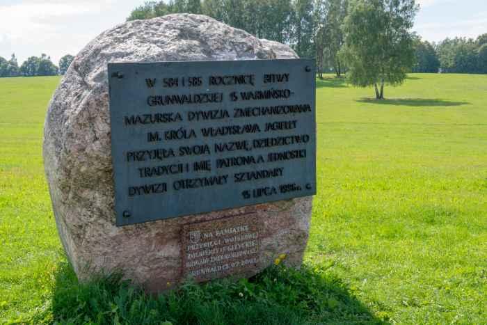 Gedenkstein für die 15. Mechanisierte Division