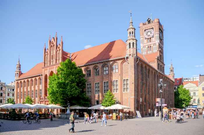 Rathaus in Thorn (Toruń)