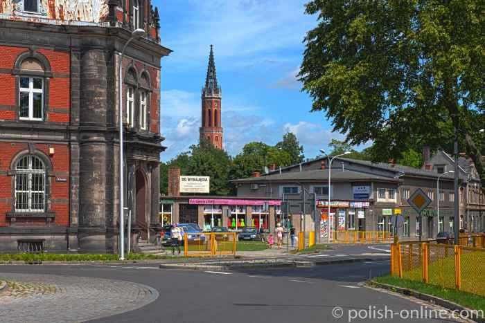 Ehemalige evangelische Kirche in Żagań