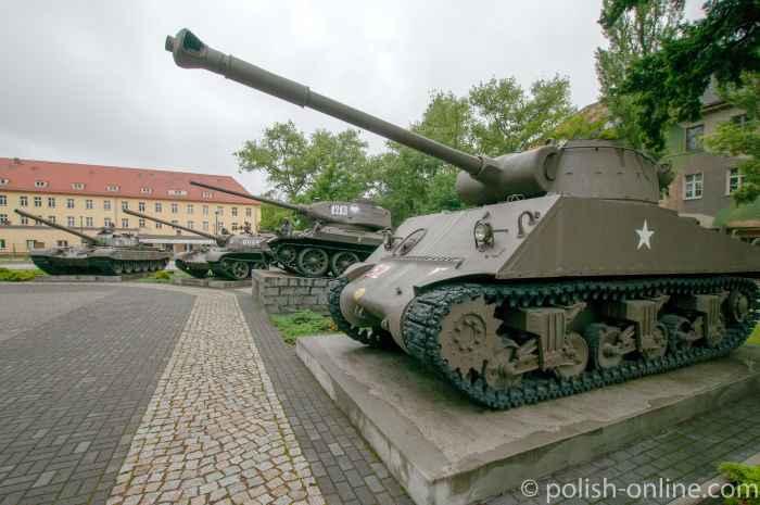 Panzer in Żagań