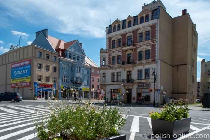 Bürgerhäuser in Żagań