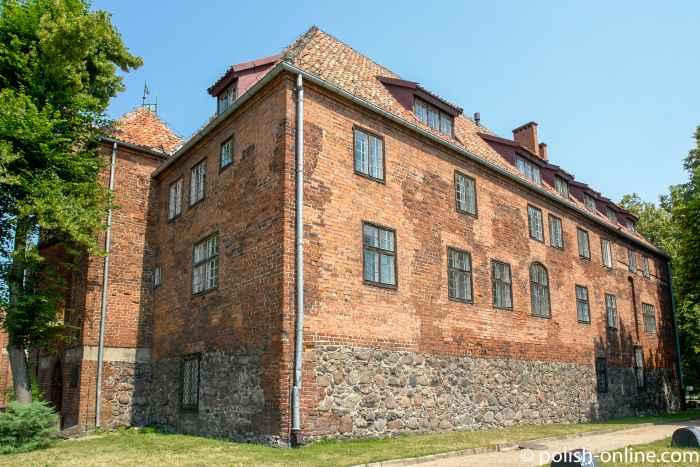 Südseite der Ordensburg in Rastenburg (Kętrzyn)