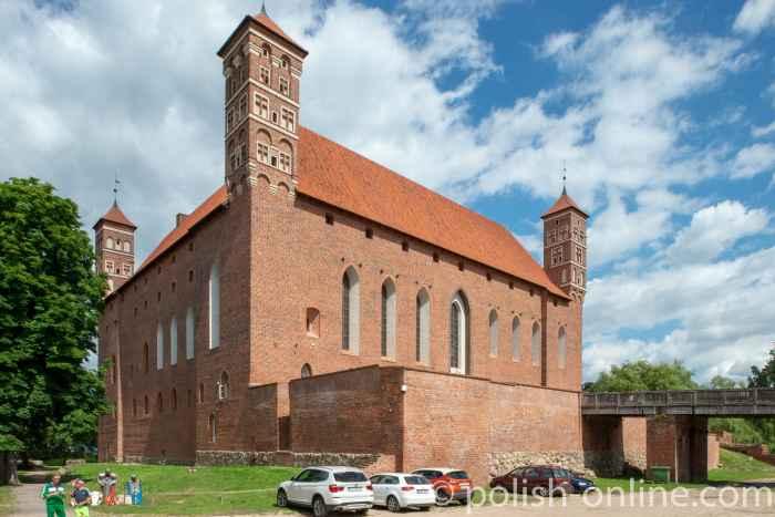 Burg in Lidzbark Warmiński (Heilsberg)