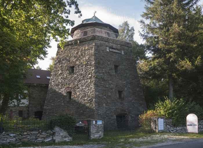 Ehemaliger Kalkofen in Alt Mohrau (Stara Morawa)