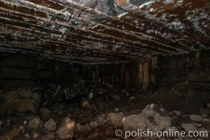 Raum im Himmler-Bunker in der Feldkommandostelle Hochwald in Masuren