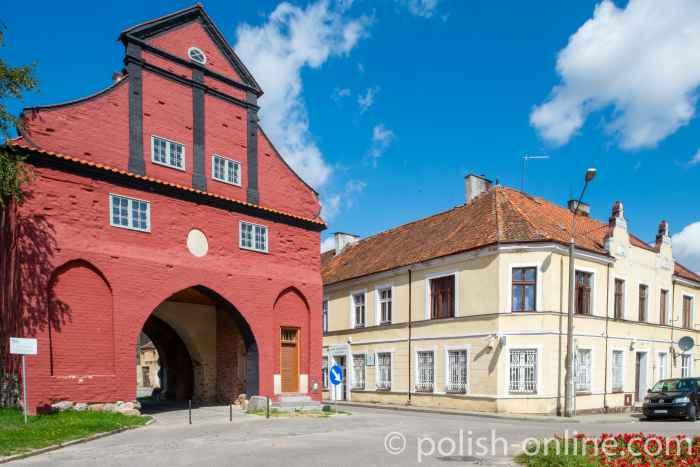 Stadttor in Bischofstein (Bisztynek)