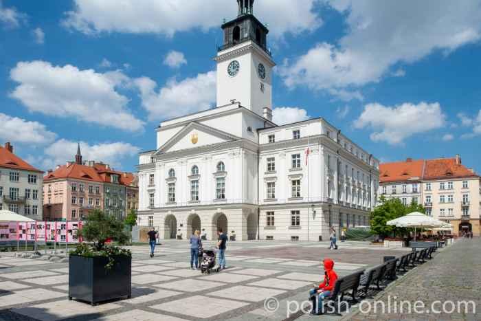 Rathaus von Kalisz in Großpolen