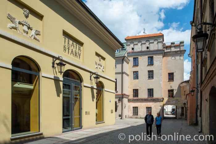 Das Alte Theater (Teatr Stary) in der Lubliner Innenstadt