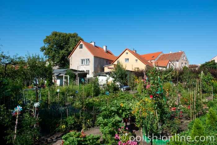 Gärten in Bischofsstein (Bisztynek)