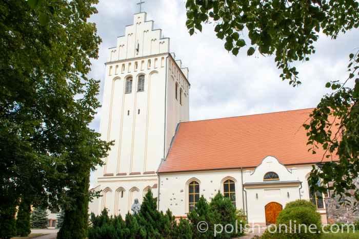 Alte Kirche in Goldap in Masuren