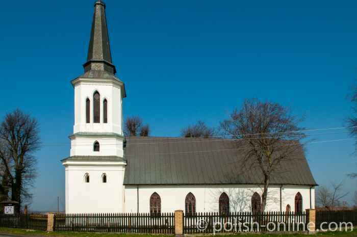Kirche der Heiligen Maria auf der Insel Kasibór (Swinemünde)