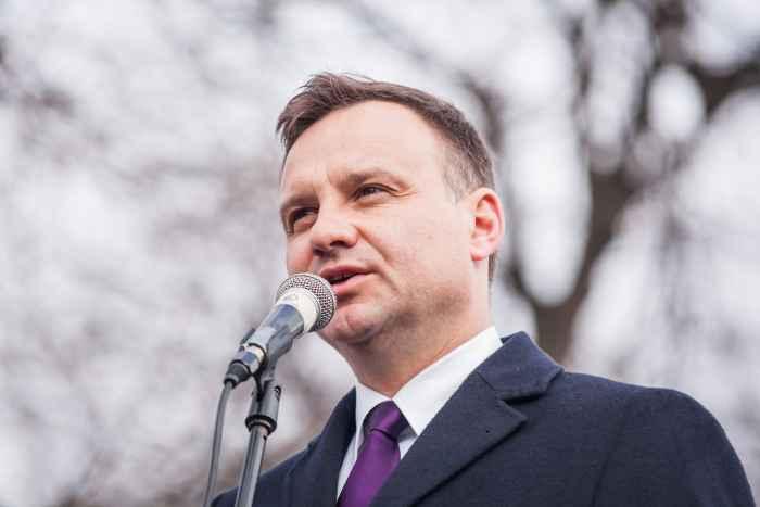 Porträtfoto von Andrzej Duda