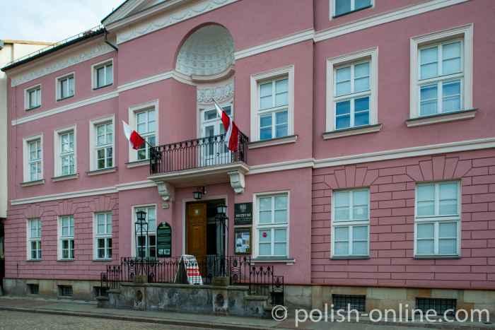 Fassade des Museums der Stadt Kolberg