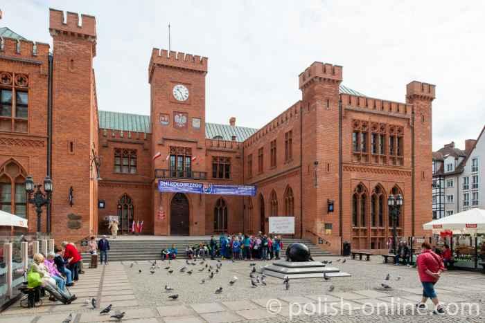 Das Kolberger Rathaus von Karl Friedrich Schinkel