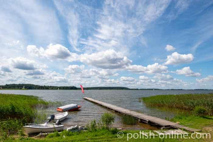 Bootssteg am Schwenzaitsee (Jezioro Święcajty) in Masuren