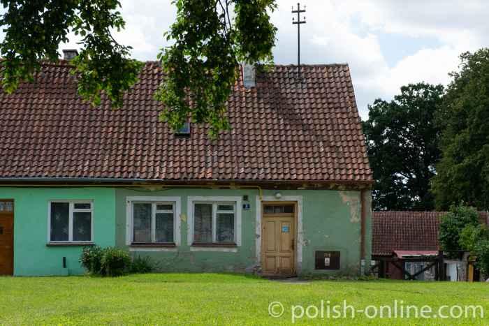 Altes Haus in Angerburg (Węgorzewo) in Masuren
