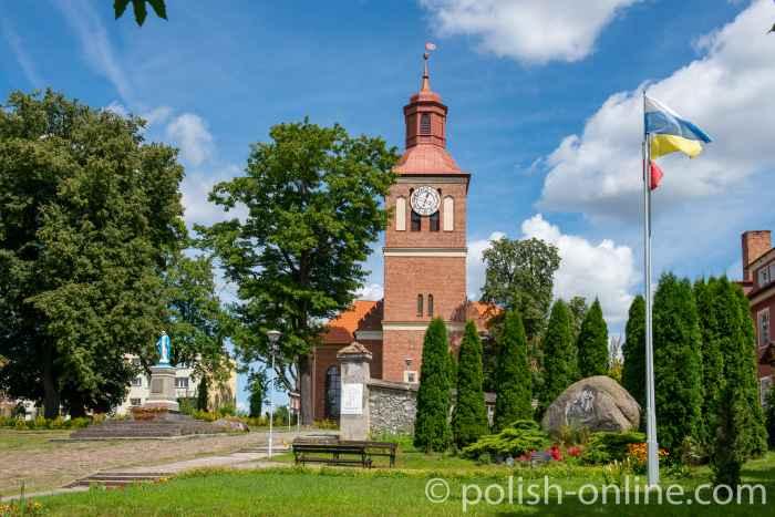 Kirche St. Peter und Paul in Angerburg (Węgorzewo) in Masuren