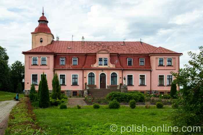Schloss in Reichenau (Rychnowo) in Masuren