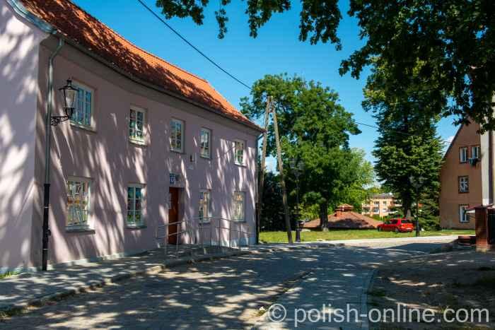 Historisches Wohnhaus im Zentrum von Bartenstein (Bartoszyce) in Polen